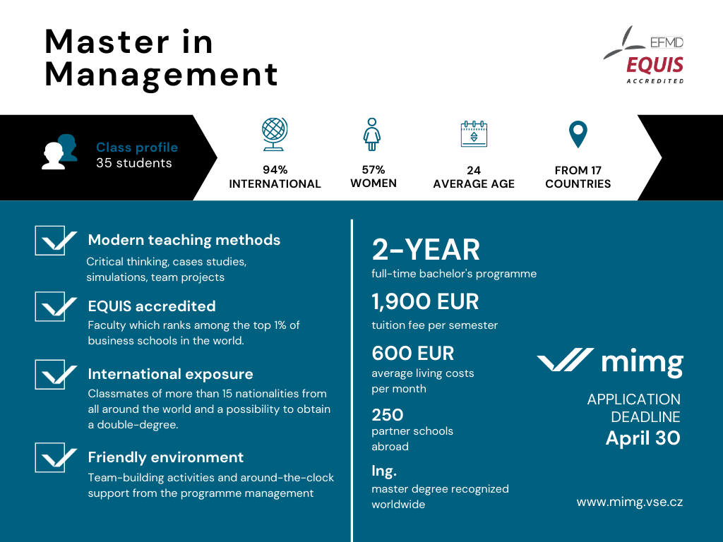 Master in Management Overview