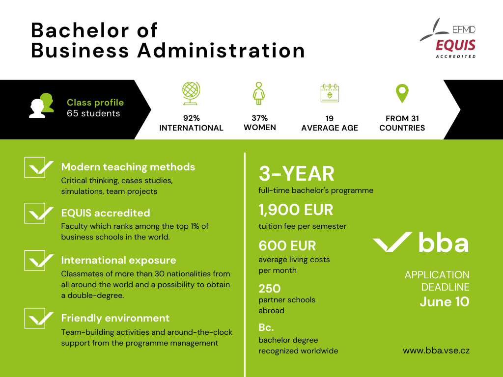 Bachelor of Business Administration Overview