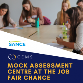 CEMS Mock Assessment Centre at the Job Fair Chance /March 17, 2020/