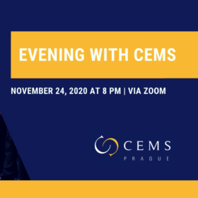 Interested in CEMS? Join Us for Evening with CEMS /November 24, 2020/
