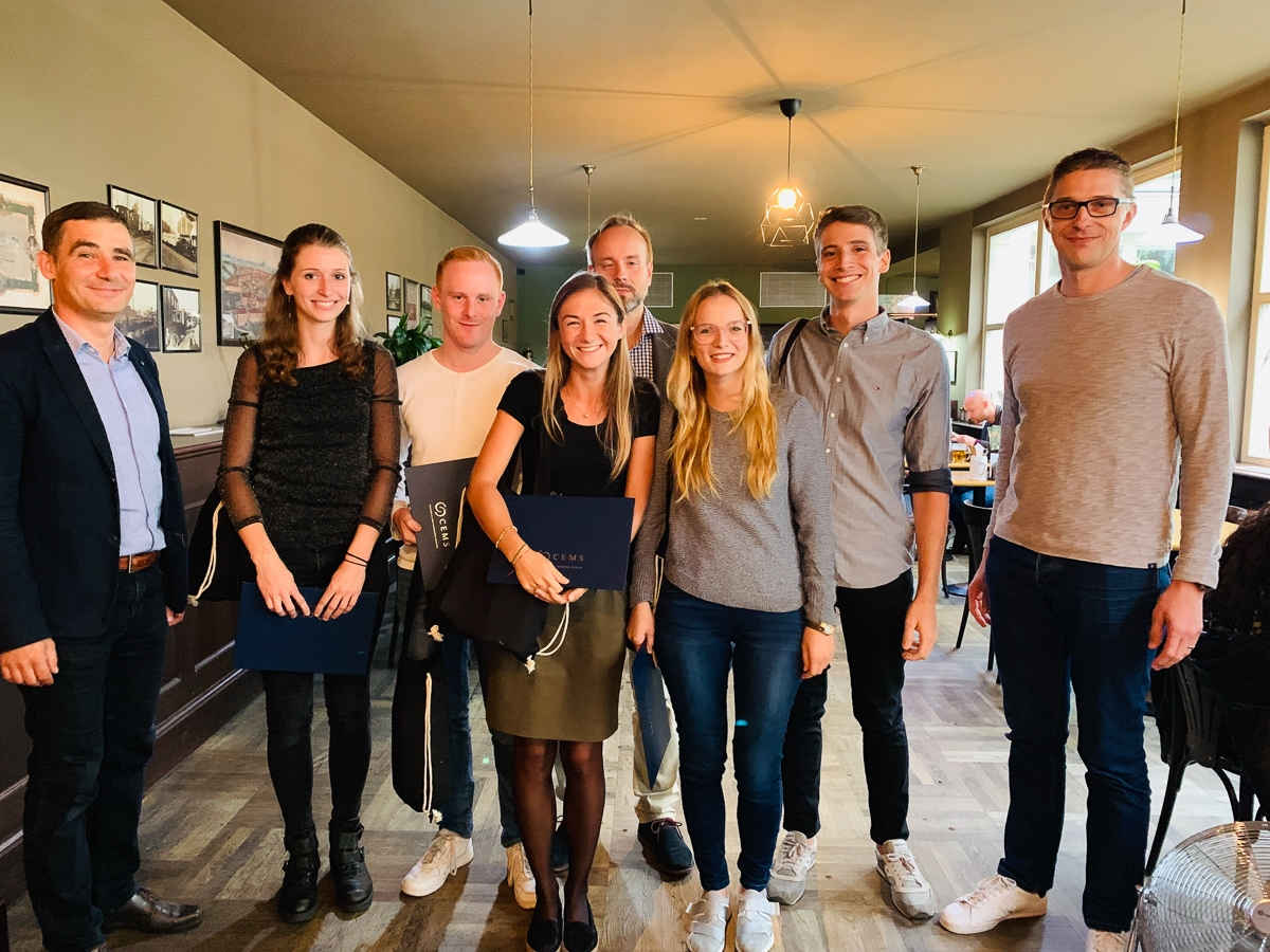 Theacademic year 2019/2020 for the new CEMS class at the University of Economics, Prague has been kicked-off with the Block Seminar, which was held on September 2 – 6, 2019.