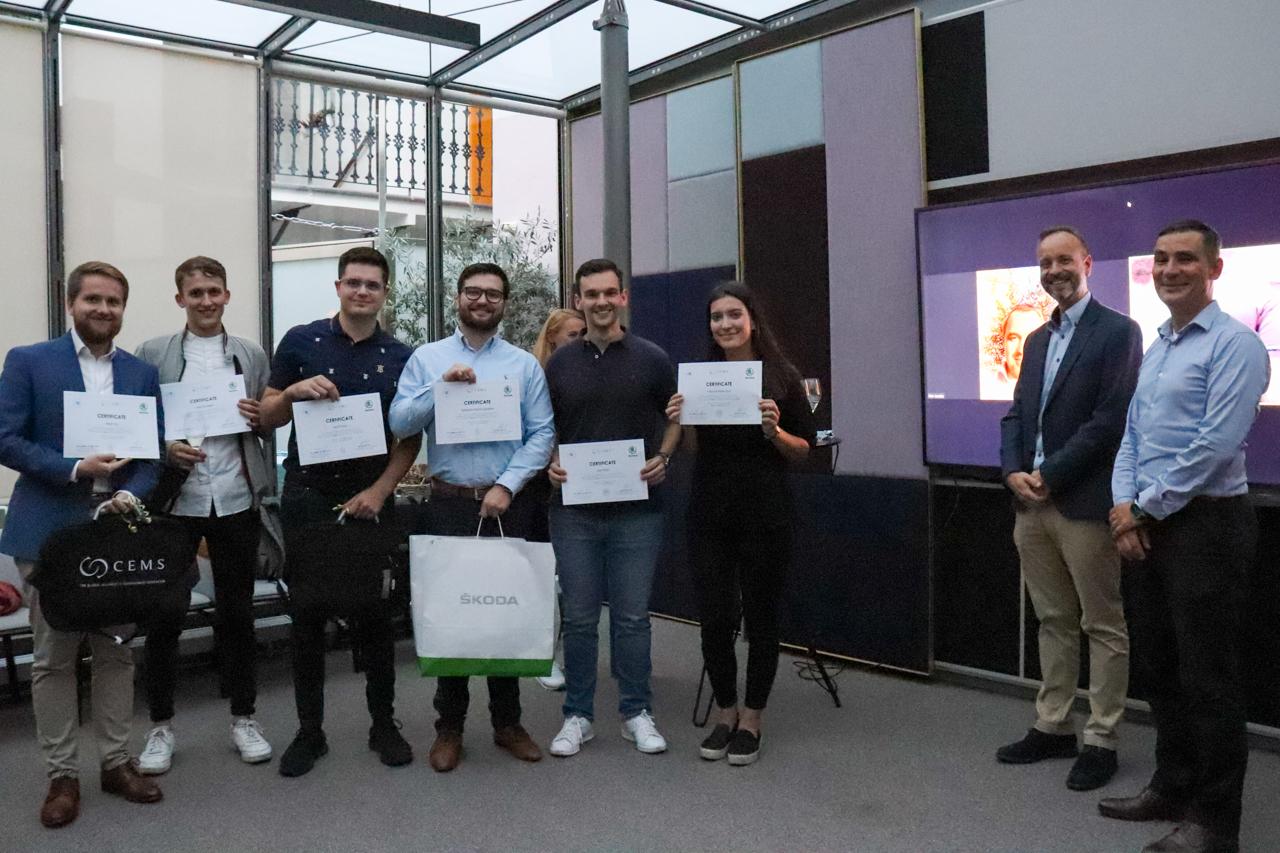 Flashback: Block Seminar with ŠKODA AUTO a.s.