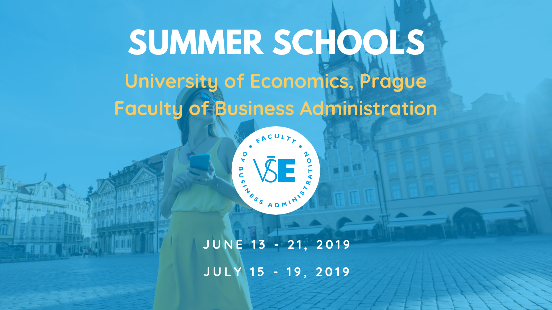 Summer Schools at the Universoty of Economics, Prague