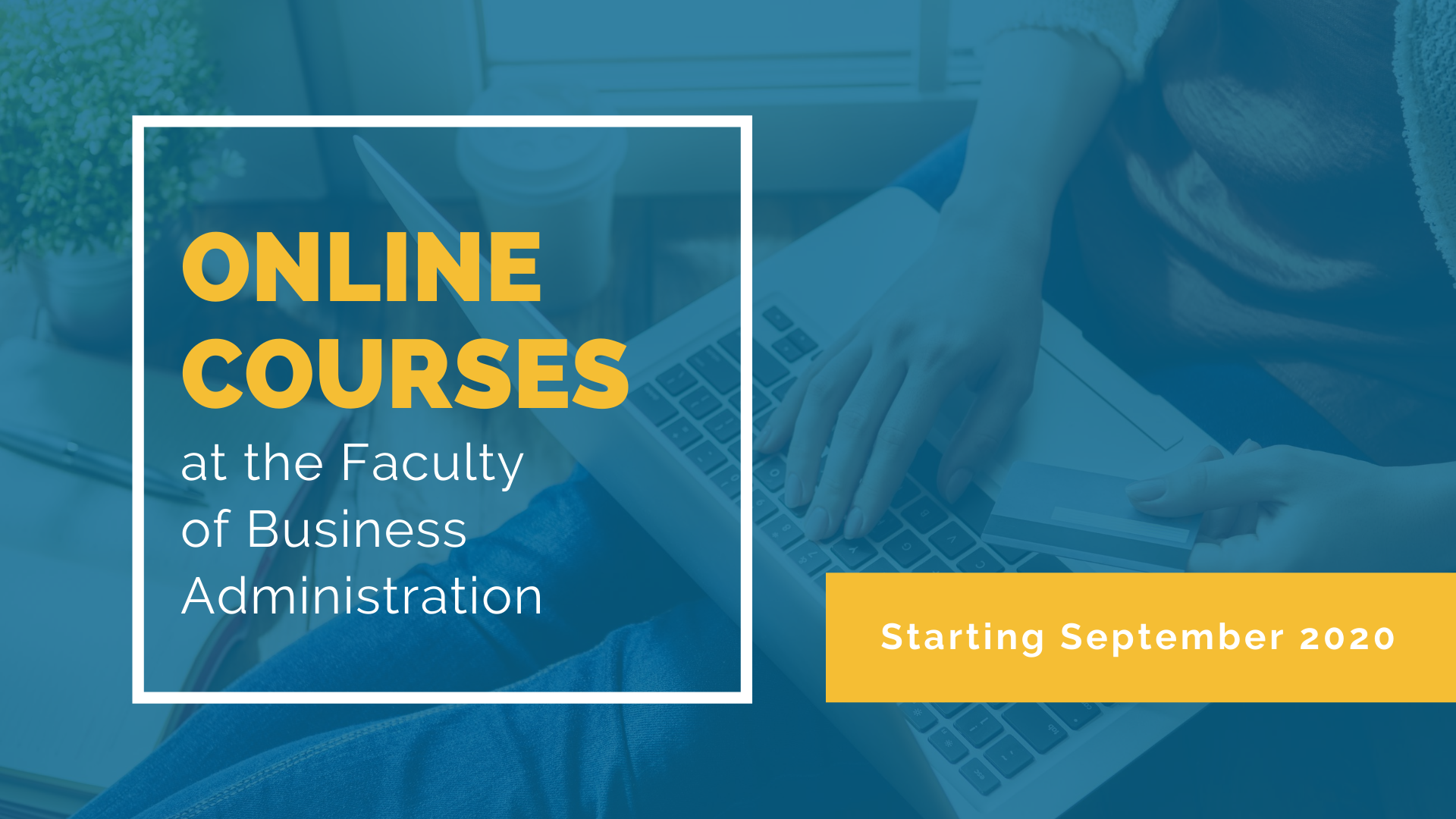 Open online courses at the Faculty of Business Administration
