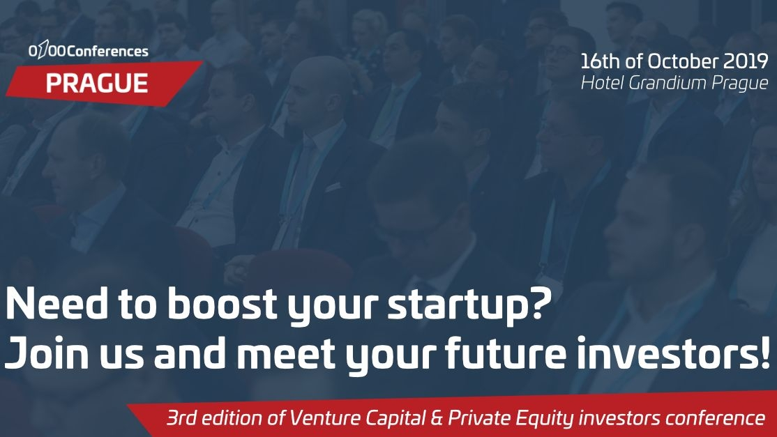 Venture and Private Equity investors conference this October in Prague