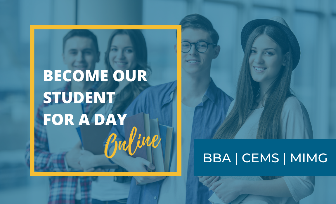 Become Our Student for a Day!