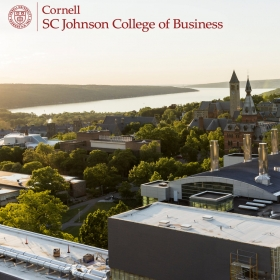 New opportunities for CEMS MIM students through collaboration with the Cornell SC Johnson College of Business