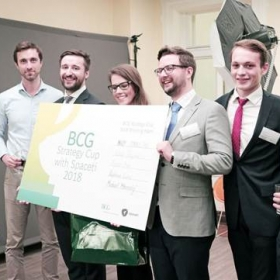 CEMS Students Succeeded in the BCG Strategy Cup with Spaceti