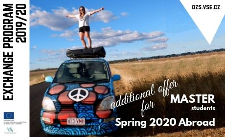 Exchange Programme in the spring semester 2020 for Master students