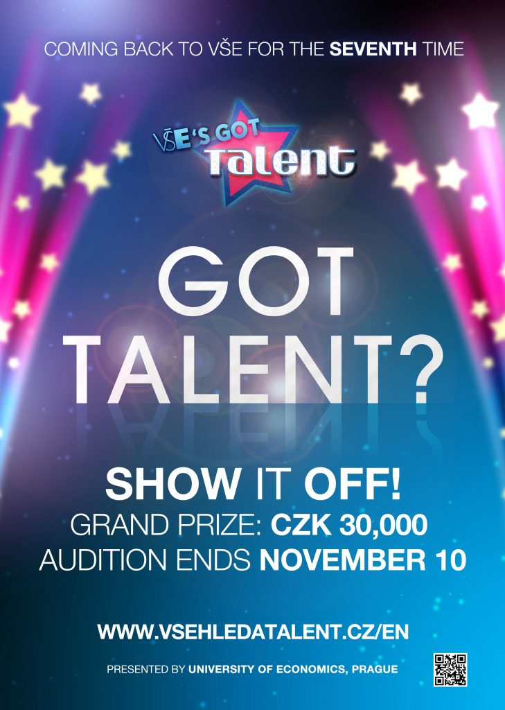 Do you have a talent? Then show it!